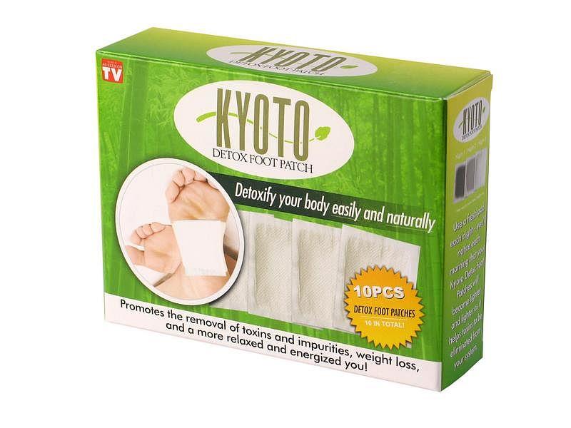 Detoxikačné náplasti Kyoto