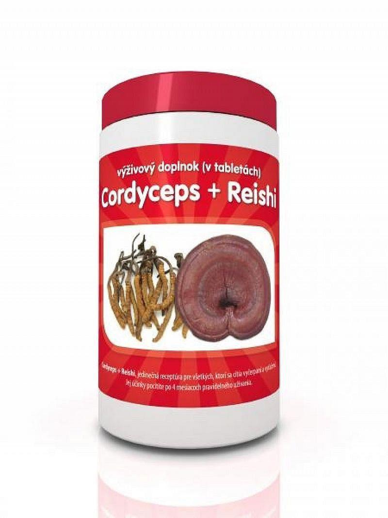 Reishi + cordyceps 60tbl
