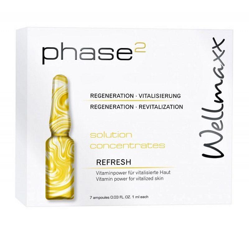 Ampulky s vysokou koncentráciou vitamínov Refresh