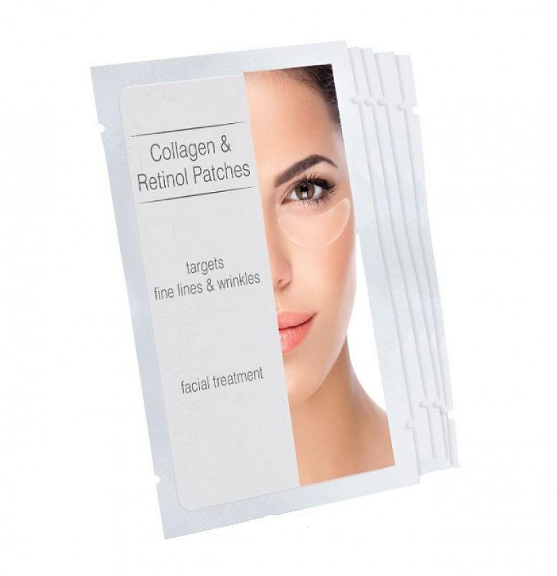 Náplasti s kolagénom a retinolom