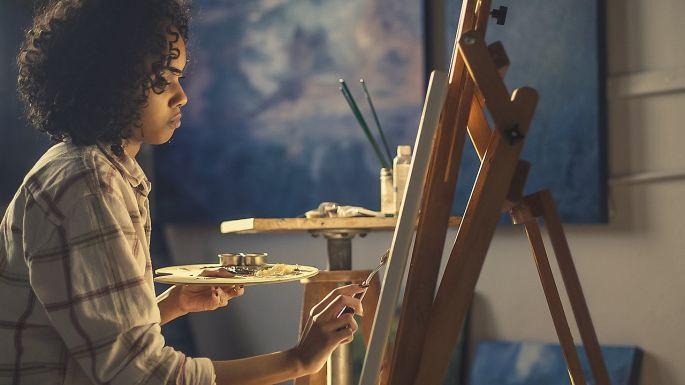 Maľovanie obrazu
