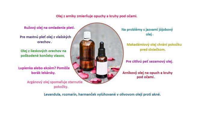 Esenciálne oleje pre zdravie a krásnu pokožky