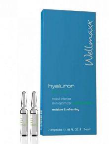 Ampulky s kyselinou hyalurónovou a aloe vera