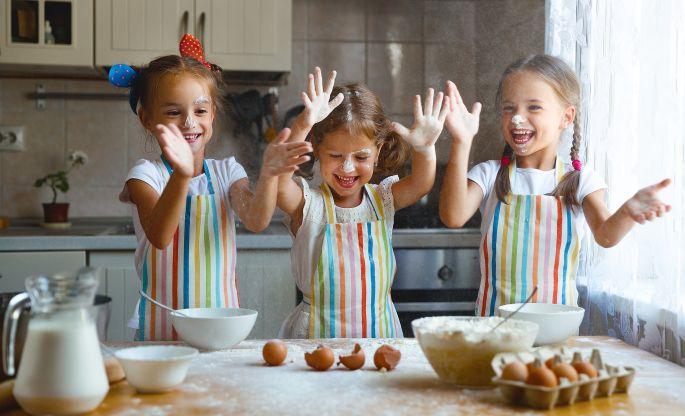 Sviatočné pečenie s deťmi