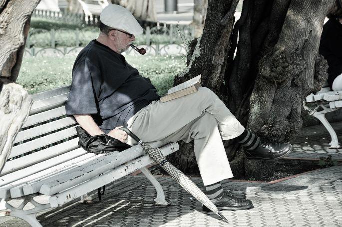 Čítanie a oddych na pozitívne myslenie