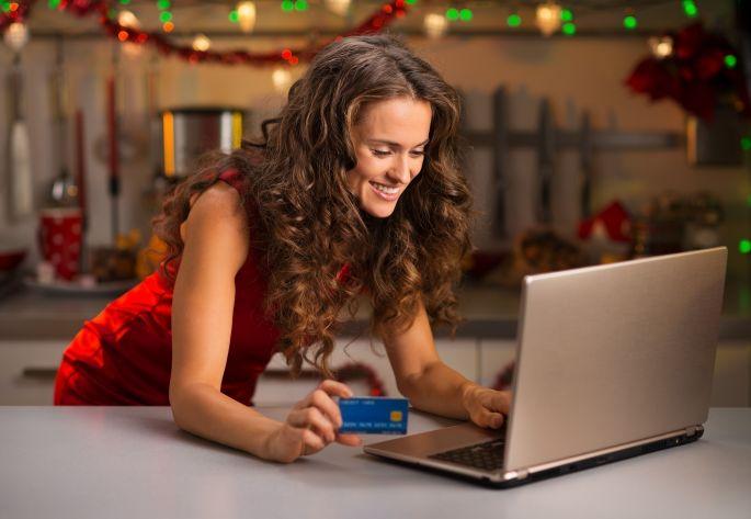 Sviatočné on-line nakupovanie darčekov